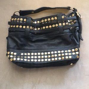 Rebecca Minkoff tote, black leather